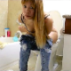 A pretty Asian-American girl pisses and then wipes herself while sitting on a toilet in about 41 scenes. There are a couple of shitting scenes hidden among them. Let us know in the comments section! 113MB, MP4 file. About 25 minutes.