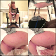 4 girls take turns shitting while sitting on a potty chair with some guy lying directly beneath their asses. He takes everything they have to give him without any reaction. 3 camera angles shown for each girl. 159MB, MP4 file. About 24 minutes.
