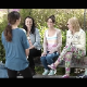 This action-packed video features 4 girls who take turns shitting while sitting on a potty device rigged with a camera beneath. Action and wiping is clearly seen. All girls show their faces, except one. About 8 minutes.