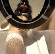 A pretty Italian girl wearing a mask takes a shit on a special acrylic toilet rigged with a bowlcam. She pees into a dog dish and shows us her dirty ass. Presented in 720P HD. About 4.5 minutes.