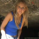 This incredible video was hidden in the middle of our selection and not properly displayed. Watch this pretty blonde girl take a nice dump in a cement tunnel and pose on the ground next to her poop pile!