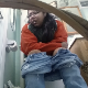 A chubby, mixed Asian-looking girl wearing glasses records herself shitting and pissing while sitting on a toilet then wiping herself. She tells us that the poop has trouble flushing. Audible pooping. No product shown. 720P HD. About 4.5 minutes.