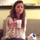An attractive Spanish girl eats a meal in one scene, and then takes a shit sitting on a potty chair with a masked man lying beneath it. Poop action is shown from 3 perspectives in this extreme dine & dump video. Over 8.5 minutes.