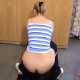 A blonde girl is recorded taking a shit on the floor, but with the camera facing up at her ass. Angle is somewhat off-center, but her poop action and wiping is still visible. A lot of straining and groundhogging. Over 8.5 minutes.