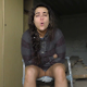 An Italian girl takes a wet, soft-sounding shit and a piss while sitting on a potty chair. Some peeing or diarrhea action can be seen from below, but no solid poop action. Presented in 720P HD. About 6 minutes.
