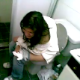 Some girls barge into a bathroom to video record their unfortunate friend on the toilet. The scene is very brief, so we are not sure if she was peeing, pooping, or both.