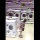 A security camera in a department store records an older woman desperately trying to find a discrete location to take a shit. Unfortunately, it is right there on the floor of the appliance department! Vertical format video. No audio. About a minute.