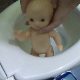 An attractive Eastern-European girl abuses her plastic doll by placing it in the toilet and taking a shit on top of it. See movies 6213, 6412, 8098 and 9009 for more. Over 7 minutes.