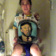 Peteuse takes gassy, runny shits while sitting on a toilet in at least 5 scenes. It is apparent that she is not a Trump supporter. Presented in 720P HD. Over 5 minutes.