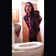 A girl barely makes it to the toilet on time while recording herself taking an urgent, loose shit. She shows us her dirty ass and product in the toilet bowl. Brief, but complete, vertical format, 720P HD video. Over a minute.
