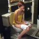 This is a compilation of many scenes featuring girls sitting on toilets while both peeing or pooping, and a person with a camera breaks into the bathrooms. About 3 minutes.