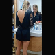 A hidden camera is positioned behind a girl as she uses a toilet in several scenes. Farting, pissing, and some shitting can be heard. Over 6 minutes.