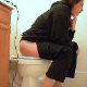 Here is one of less common Bianca videos in which her face is visible. She takes a shit while sitting on a toilet in 2 scenes. Audible plops and some pissing is heard. Second scene features a softer, crackling poop. About 6 minutes.