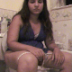 A brunette girl with a big, plump ass records herself farting, straining and shitting while sitting on a toilet. She speaks and swears repeatedly over her discomfort and difficulty getting the poop out. About 2.5 minutes.