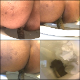 A curvy black woman shows us her big ass and takes a shit while sitting on a toilet in 8 scenes. Poop action with some pissing is clearly shown from the rear. Presented in 720P HD. 538MB, MP4 file. Over 27.5 minutes.