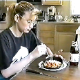 "This was the first dine & dump type video ever recorded in the poop movie industry, coining the term, ""Dine & Dump"". This fascinating video shows poop pioneer, Brittanie eating a meal, then later pooping it out! Over 3.5 minutes."