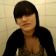 A double feature video clip showing two different Spanish girls speaking to the camera as they take a shit while sitting on a toilet. No audible poop sounds because of background noise. Spanish speaking video.