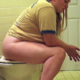 A blonde girl takes a piss and loud, wet-sounding shit while sitting on a toilet. Some very nice, long wet farts as well. She wipes her ass when finished. No poop is shown. Over 2 minutes.