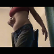 A mature woman farts repeatedly in her jeans for the camera. She presses in her bloated belly to get more gas out. About 14 minutes.