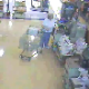 An old woman takes a stealthy shit in open view at a grocery store. After she leaves, a store clerk nearly slips on it and calls in the cleaning crew.