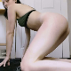 A girl with a nice body takes a massive shit onto a plate while kneeling on the floor. She provides a close-up of the finished product at the end of the clip. Presented in 720P HD. Over 2 minutes.