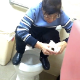 A hidden camera in a medical clinic restroom somewhere in Asia records at least 6 elderly women using the toilet. Most are pissing and collecting urine samples, however, one of them takes a massive shit clearly seen coming out. Over 11 minutes.