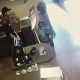 A girl argues with a coffee shop employee over her drink, and in protest, she drops her pants right there in the middle of the restaurant and takes a piss and shit while the employee calls the police.