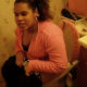 A Puerto Rican girl is video recorded by her friend as she grunts and strains to take a shit on the toilet. It looks like she may have had some success in the end, but we cannot hear the plop.