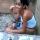 A cute Spanish girl is seen squatting outdoors taking a shit. Video quality is not ideal, but this is still a very nice video with a pleasing angle showing the wiping of her ass and finished product on the ground.