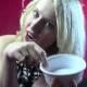 An attractive blonde girl speaks in a demeaning way to the camera, then takes a firm shit into a ceramic bowl. She wipes her ass and shows us the dirty TP. Not for the easily offended viewer. 720P HD. 122MB, MP4 file. About 7.5 minutes.