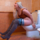 A blonde girl re-enacts the notorious toilet scene from Dumb & Dumber. All fake sounds, but funny. Feel free to share! Presented in 720P HD. Over 3 minutes.