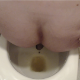 Carmen sets up her camera in a great place behind the toilet while she takes a shit in her own bathroom. Poop action is clearly seen. Wiping and finished product shown! 720P HD quality. About 11 minutes.