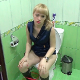 A pretty, blonde, Eastern-European girl takes a shit and a piss while sitting on a toilet. Many nice, clear plops are heard. Presented in 720P HD. Over 4 minutes.