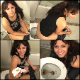 Dave from CGP video-records 7 different women pooping while sitting on a toilet and onto a plate. Pretty girls in this one! Over an hour long. 721MB, MP4 file requires high-speed Internet.