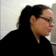 A fat girl with glasses strains and grunts while trying unsuccessfully to poop. She tells her friend how constipated she is and how she is taking medication to loosen her bowels. Some peeing sounds. About 7 minutes. Almost painful to watch!