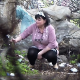 A woman pisses and has diarrhea on the ground in a hidden outdoor location and then wipes her ass. No audio. See movies 5799, 5800, 6009 and 7291 for more in this series. About 2 minutes.
