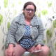 A fat, older woman takes a gassy, loose shit and a piss while sitting on a toilet. She wipes her ass and some poop is seen on the TP. Product shown in toilet. Presented in 720P HD. 105MB, MP4 file. About 5 minutes.