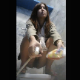A pretty Asian woman takes a big shit into a floor toilet. She uses a spray hose to clean off her ass. Video appears to have been captured by hidden camera. 720P vertical HD format. Over 5 minutes.