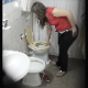 This is a genuine voyeur video featuring an unsuspecting girl pissing while sitting on a toilet with crisp, clear image and decent audio. Peeing only. Presented in 720P vertical HD format. About 2 minutes.
