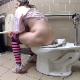 A hidden camera that was positioned in a public restroom at a grocery store captures 8 different women using the toilet with at least 4 confirmed shitting scenes. Audible pooping and farting. 147MB, MP4 file. About 24.5 minutes.