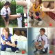Multiple Japanese school girls take pee breaks during sports practice. The girls discover that the toilets are locked and end up pissing in their pants, on the floor, or into bags and bottles. Over 2.5 hours. 1.07GB, MP4 file requires high-speed Internet.