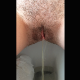 A woman with a stubbly pussy is recorded from a between the legs perspective as she takes a piss and shit into a toilet in 2 different scenes. Presented in 720P vertical HD format. Over 2 minutes.