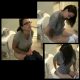 A brunette girl with glasses films herself farting and shitting while sitting on a toilet in 7 scenes. She lights a match after shitting to get rid of the smell. This 10-minute video has great audio and nice scenes as she drops some serious audible bombs!