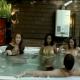 This is a video that has been floating around for a while. A woman gets more than she bargained for when she thinks she can sneak a fart while in the hot tub with her friends!