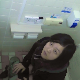 A Japanese girl is recorded taking a piss and a shit by someone peeking over the restroom stall. She catches the cameraman twice in the act of recording her. Product is visible in the toilet as she wipes her ass. Presented in 720P HD. About 3 minutes.