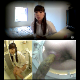 This 720P HD, high-quality, Japanese bowlcam video features 6 different women pissing and shitting into a western-style toilet rigged with a camera. Split-screen presentation and perfect audio! 1.35GB MP4 file takes time to download.