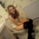 A cute, British girl is video recorded by her friends while she takes a shit. She seems to be a good sport about it and does not seem to mind the attention. Unfortunately, the poop sounds cannot be heard.
