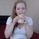 This is the first Dine & Dump type video ever created by Kaidence, the sweet, young British girl. She eats a sandwich, and then shits out a monster log, showing us all action and product. 720P HD. About 19 minutes.