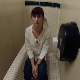 A woman records herself taking a wet, runny sounding shit while sitting on a toilet in a public restroom. No poop action or finished product is shown, but audio is great. About 5 minutes.