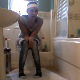 A pretty brunette British girl farts, pisses, sharts, and sometimes shits while sitting on a toilet in about 9 scenes. She laughs at her own sounds and comments on her smells. Mainly wet farts in this clip. Presented in 720P HD. Exactly 6.5 minutes.